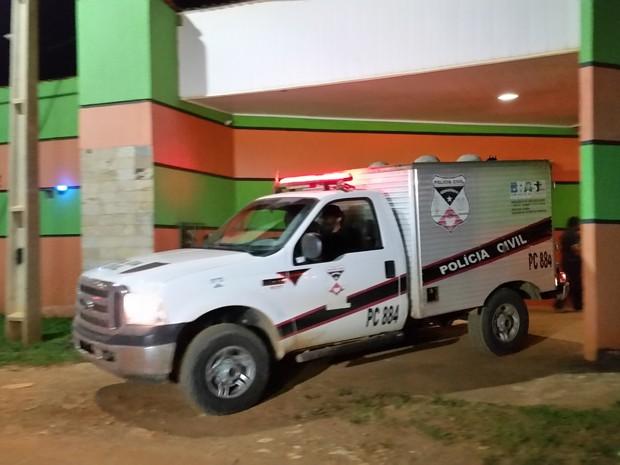 Peritos do IML, que foram ao motel, afirmaram que o idoso sofreu morte natural durante ato sexual (Foto: Toni Francis/G1)