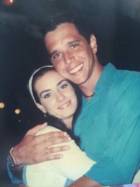 Larissa Erthal e Márcio Garcia (Foto: Arquivo Pessoal)