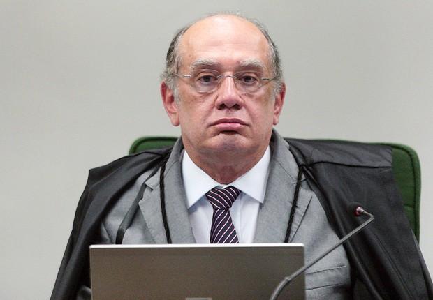 O ministro Gilmar Mendes preside sessão da 2ª turma do STF (Foto: Rosinei Coutinho/SCO/STF)