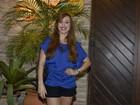Vídeo: Aline explica sobre o vestido exótico que usou na final do 'BBB 14'