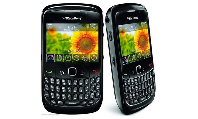 BlackBerry Curve 8520 (Foto: Divulgação/BlackBerry)