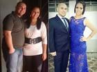 'Um ajudou o outro', diz casal que emagreceu quase 80 quilos junto