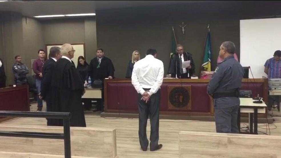 Jackson Rodrigues Nepomuceno foi julgado na terça-feira (20) no Tribunal do Júri, em Macapá (Foto: André Gustavo/Arquivo Pessoal)