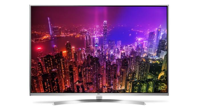 Smart TV da LG tem tela de 55 polegadas em 4K (Foto: Divulgação/LG)