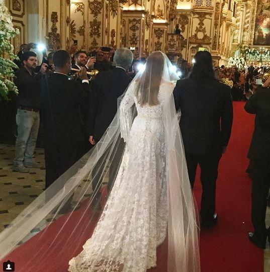 Preta Gil em casamento com Rodrigo Godoy (Foto: Instagram / Reprodução)