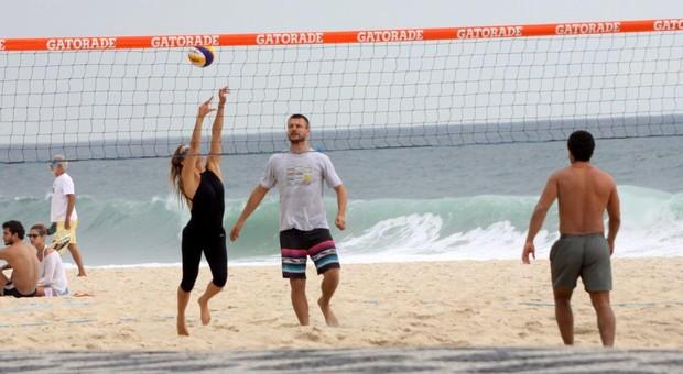 Rodrigo Hilbert e Fernanda Lima (Foto: Ag. News)