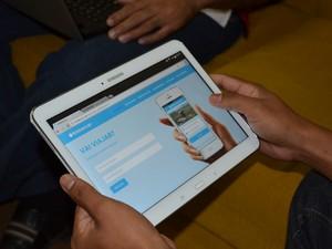 O aplicativo vai ser disponibilizado para download gratuito (Foto: Karla Lima/G1)