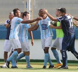 gol de douglas assis, macaé x america-rj (Foto: Tiago Ferreira / Macaé Esporte)