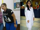 Estudante de 19 anos elimina 21 kg após calça tamanho 46 ficar apertada