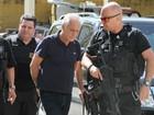 Após ser preso, suposto operador do PMDB faz exame no IML em Curitiba