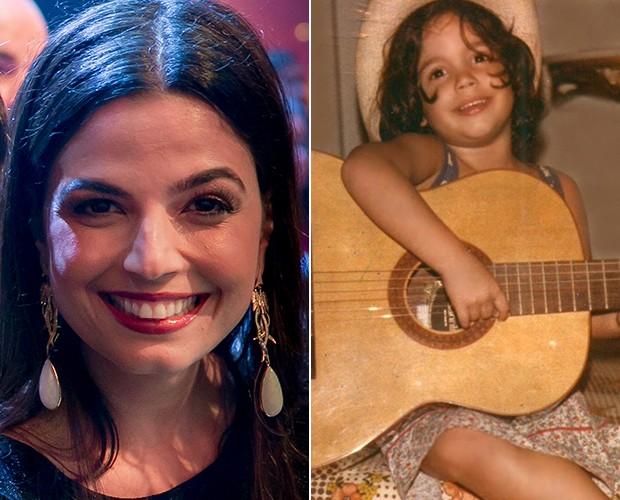 Emanuelle Araújo lembra início da carreira na música (Foto: Isabella Pinheiro / Gshow / Arquivo pessoal)