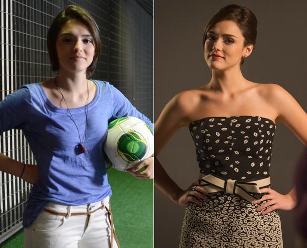 A personagem de Isabelle Drummond virou modelo em Sangue Bom (Foto: Zé Paulo Cardeal / João Cotta / TV Globo)