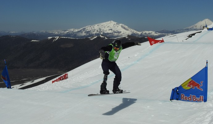 André Cintra, snowboard, Chile, Corralco (Foto: Thierry Gozzer)