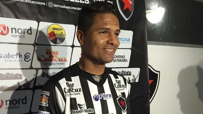 Anderson, Botafogo-PB (Foto: Lucas Barros / GloboEsporte.com)