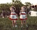 Monique e Michelle: as irmãs gêmeas unidas por travessura, choro e vôlei