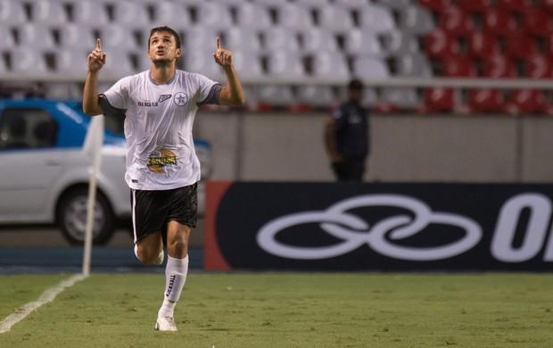 Dudu comemora, Flamengo x Resende (Foto: Celso Pupo/Agência Estado)