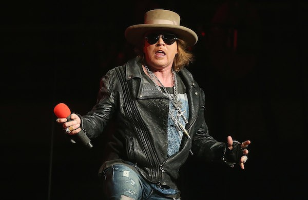 Axl Rose durante um show do Guns N Roses (Foto: Getty Images)