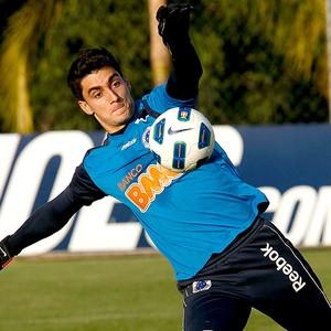 Rafael goleiro Cruzeiro (Foto: Washington Alves / VIPCOMM)