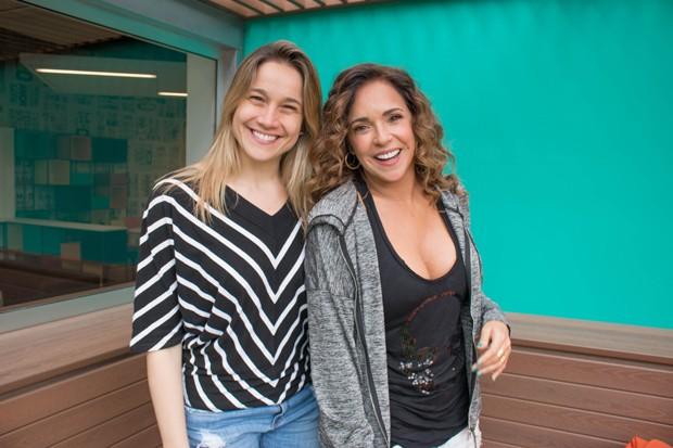 Fernanda Gentil e Daniela Mercury (Foto: Divulgação)