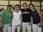 Rodrigo entrega Gissoni sobre dança: 'Um pouquinho duro, mas vai arrasar'