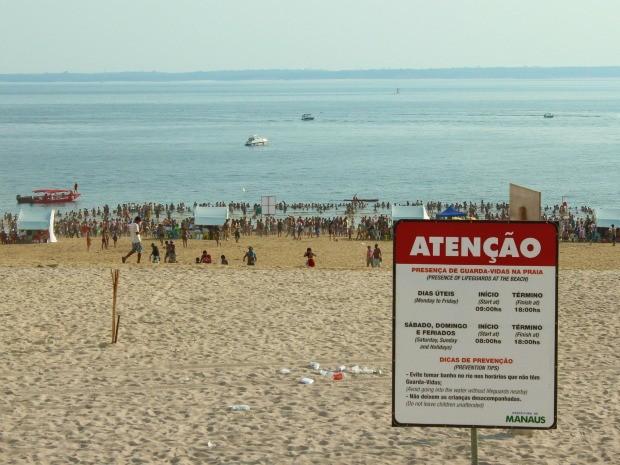No total, 12 mortes já foram registradas na praia. (Foto: Mônica Dias)