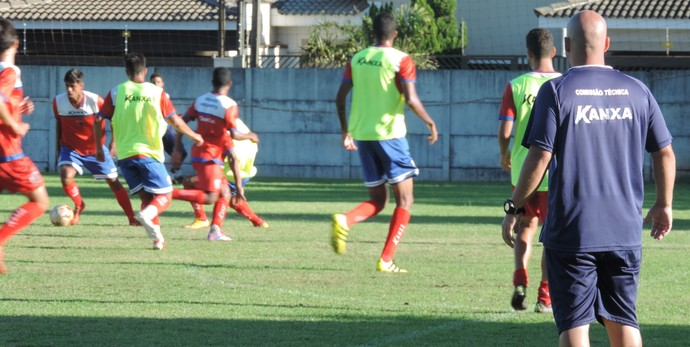 Grêmio Prudente, treino (Foto: Murilo Rincon / GloboEsporte.com)