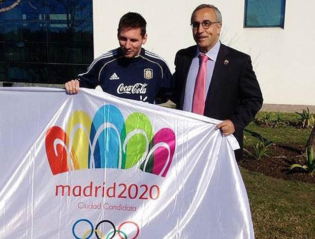 Lionel Messi candidatura Madrid 2020 (Foto: Reprodução / Facebook)