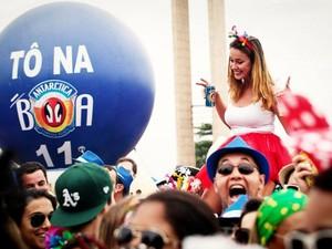 Antarctica patrocina carnaval de rua no Rio há seis anos (Foto: Divulgação)