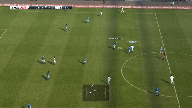 screenshot de PES 2013