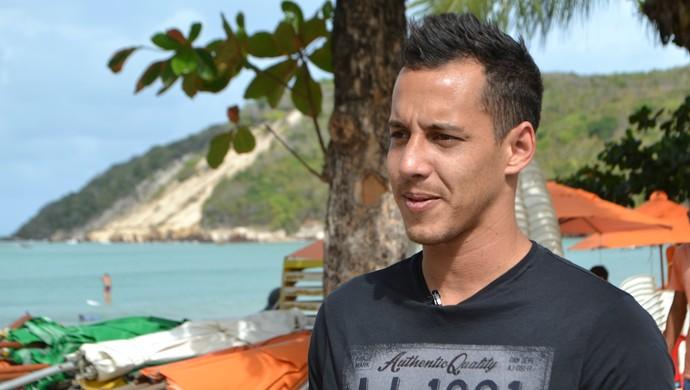 RN - Rodriguinho - Natal - Corinthians (Foto: Jocaff Souza/GloboEsporte.com)