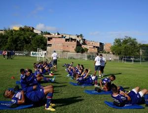 Bahia treina no Fazendão (Foto: Felipe Oliveira / Divulgação / Bahia)