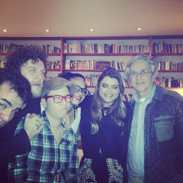 Preta Gil com Caetano Veloso, Otto, Maria Gadú e Teresa Cristina (Foto: Instagram/ Reprodução)