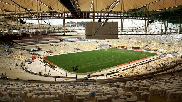 obras Maracanã Copa do Mundo estádio (Foto: AFP)