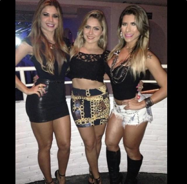 Cacau , Renatinha e Ana Paula Minerato (Foto: Divulgação)