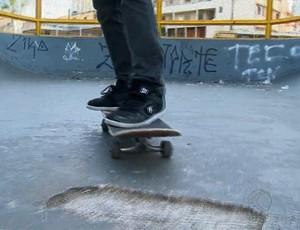 Pista skate Juiz de Fora (Foto: Reprodução/ TV Integração)