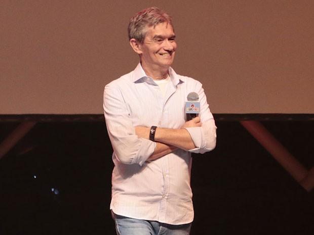 Serginho Groisman em prêmio de humor em São Paulo (Foto: Rafael Cusato/ Brazil News)