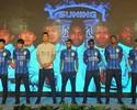 Em evento, Ramires, Alex Teixeira e Jô são apresentados pelo Jiangsu Suning