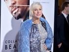 Helen Mirren faz campanha contra o uso de pele de animais em première