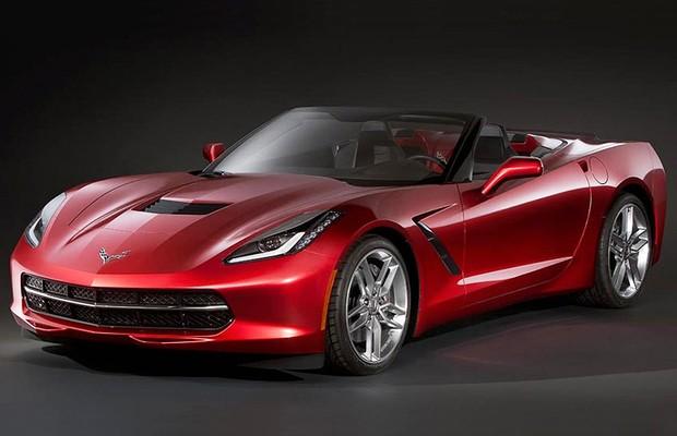 Imagens mostram como pode ser o futuro Corvette conversível (Foto: Reprodução da internet)