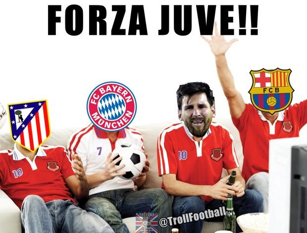 Meme Real x Juventus