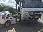 Acidente na BR-116 mata 4 pessoas da mesma família na Bahia