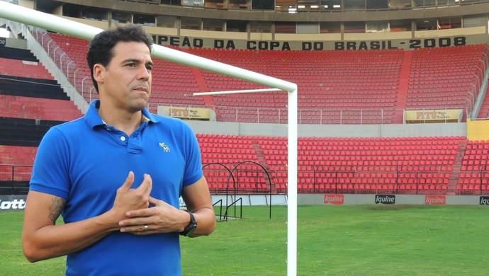 Bosco ex-goleiro (Foto: Lucas Liausu)