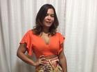 Geisy Arruda usa look charmoso e aposta em saia com fenda e decotão