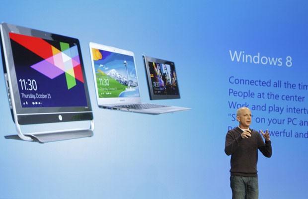 Steven Sinofsky, o presidente da divisão do Windows do Windows Live, (Foto: Lucas Jackson/Reuters)
