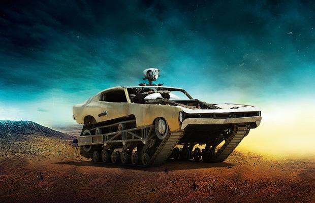 O Pacificador, do filme Mad Max: Estrada da Fúria (Foto: Warner Bros.)