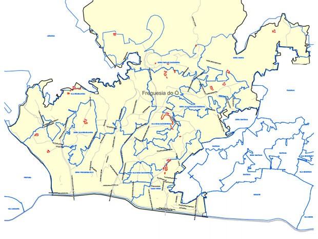 fotos jardim itatinga:Idec diz que Sabesp divulgou mapas de pontos críticos de falta d