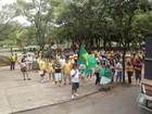 Protesto pede impeachment da presidente Dilma em Ipatinga