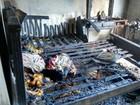 Morador esquece ferro elétrico ligado e casa pega fogo em Ressaquinha