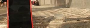 VÍDEO: em quanto tempo uma pedra de gelo derrete no Lolla? (Reprodução)