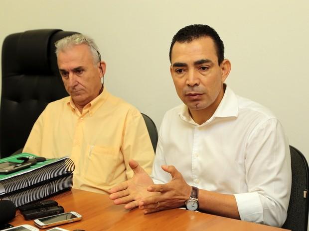 Prefeito de Nova Odessa  Benjamim Bill Vieira de Souza anuncia rompimento com OS (Foto: Cristiani Custódio/ Prefeitura de Nova Odessa)
